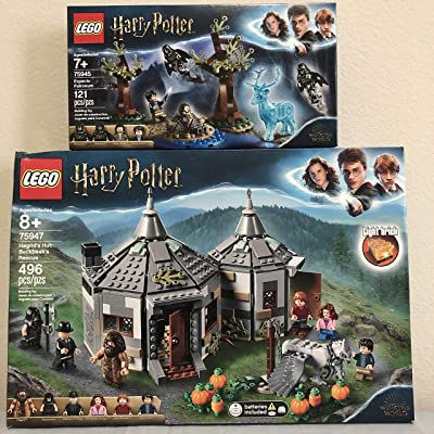 LEGO Harry Potter Hagrid's Hut: Buckbeak's Rescue Bundle Harry Potter Expecto Patronum: Toys & Games