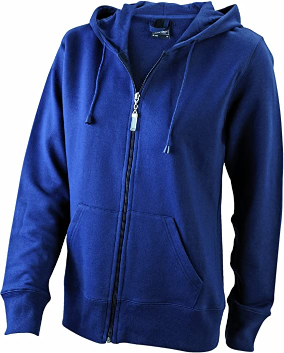 TALLA M. James & Nicholson Sudadera Damen Sweatjacke Hooded