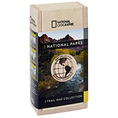National Parks Trail Map Collection [boxed set] (National Geographic Trails Illustrated Map)