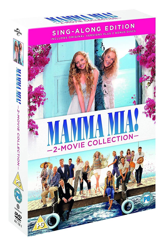 Amazoncom Mamma Mia 2 Movie Collection Dvd 2018 Movies Tv