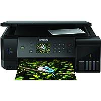 Epson EcoTank ET-7700 3-in-1 Tinten-Multifunktionsgerät (Kopie, Scan, Druck, A4, 5 Farben, Fotodruck, Duplex, WiFi, Ethernet, Display , USB 2.0), Tintentank, hohe Reichweite, niedrige Seitenkosten)