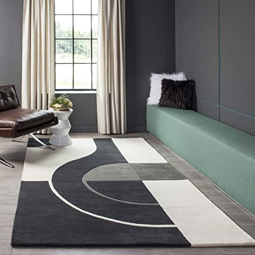 Momeni Rugs Hand Tufted Area Rug, 8 x 10 , Charcoal