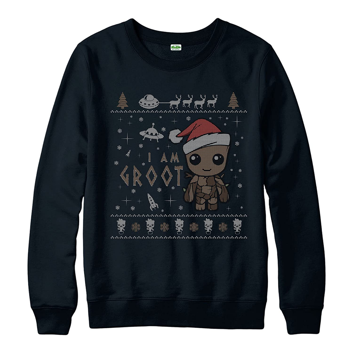 I Am Groot Xmas Jumper, Guardians of The Galaxy Christmas Spoof Jumper Top