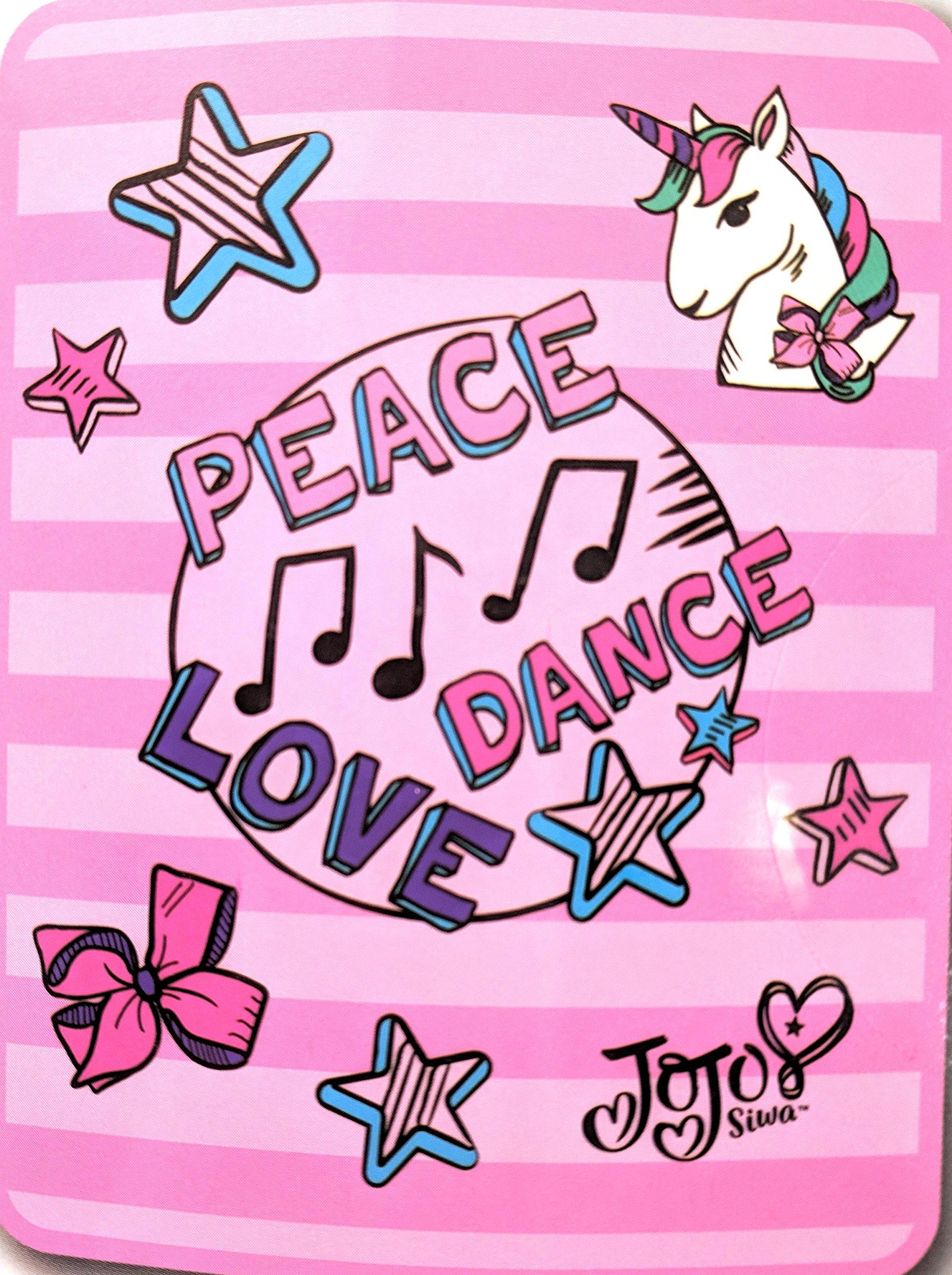Jojo Siwa Peace, Dance, Love Throw