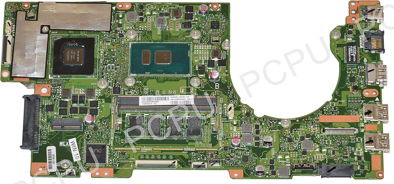 60NB0A60-MB1800 Asus K501UX Laptop Motherboard w/Intel i7-6500U 2.5Ghz CPU, 31XK5MB03E0
