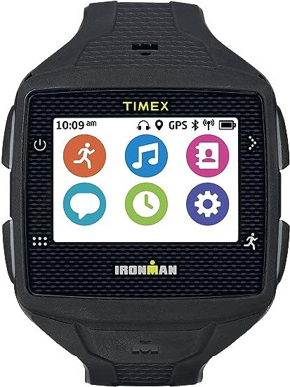 Timex TW5 K88800 F5 Ironman un GPS reloj, tamaño completo, negro/gris