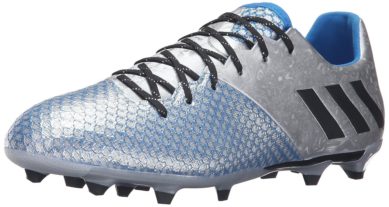 Adidas Rendimiento Hombre Messi 16.2 FG Fútbol schuhe Silber Metallic schwarz Shock Blau Silber