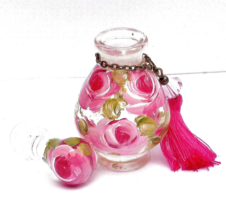 Amazon.com: Decorative Mini Glass Perfume Bottles with Stopper Caps ...