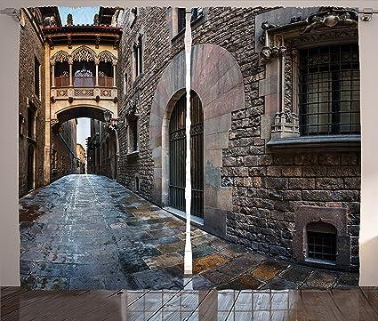 Amazon Com Medieval Decor Collection Gothic Quarter And Bridge
