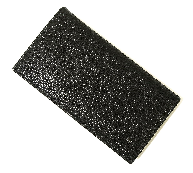 [アルマーニ]ARMANI 長財布 ジョルジオアルマーニ メンズ 二つ折 (ブラック) A-2574 [並行輸入品] B077MBPQND