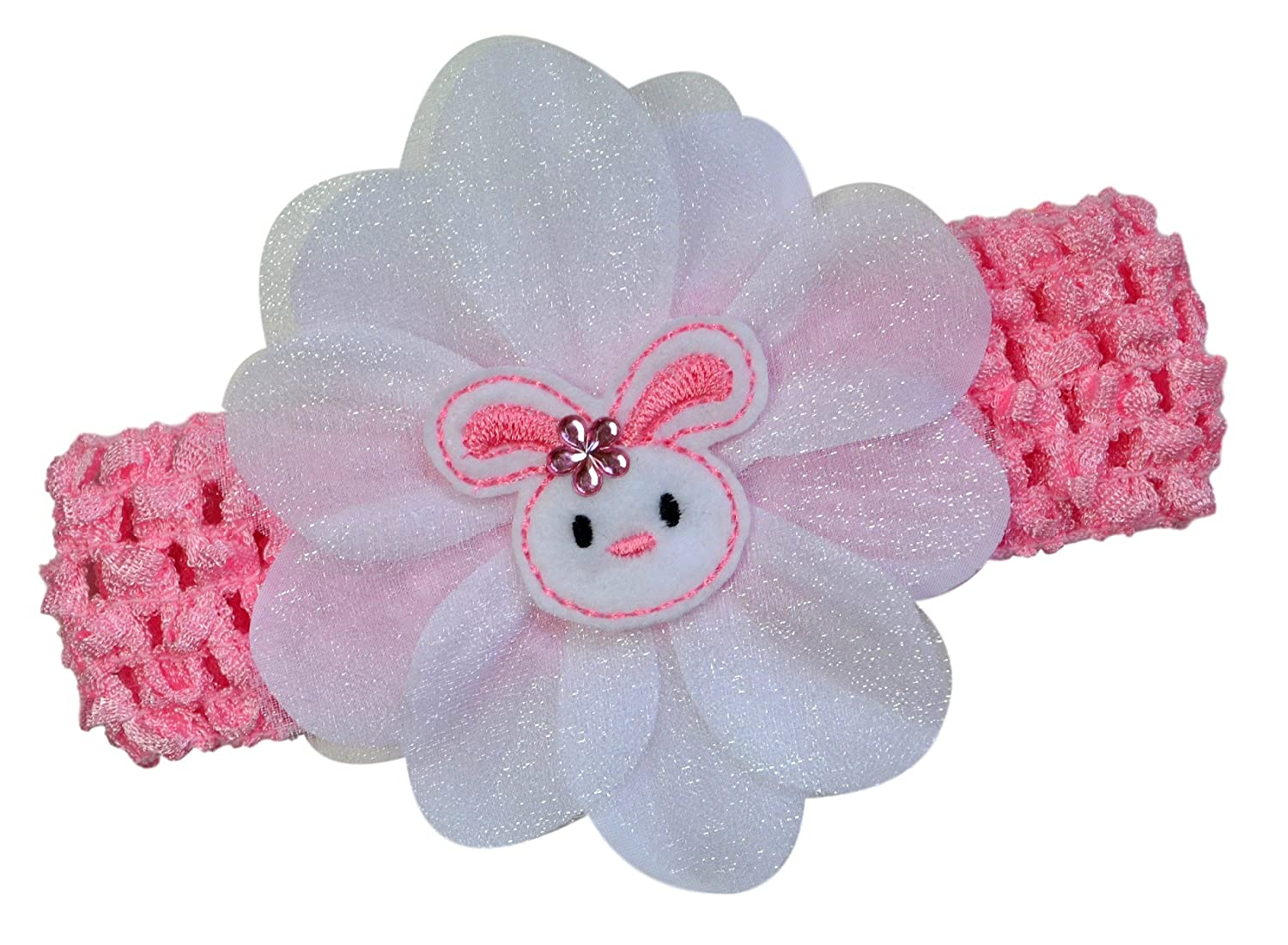 Amazoncom Easter Bunny Baby And Toddler Crochet Headband By Funny