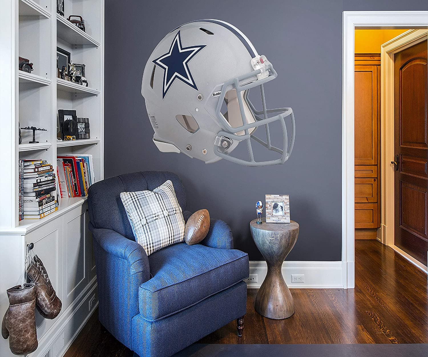 46cedf268cc ... FATHEAD NFL Dallas Cowboys - Helmet Teammate- Officially Licensed  Removable Wall Decal