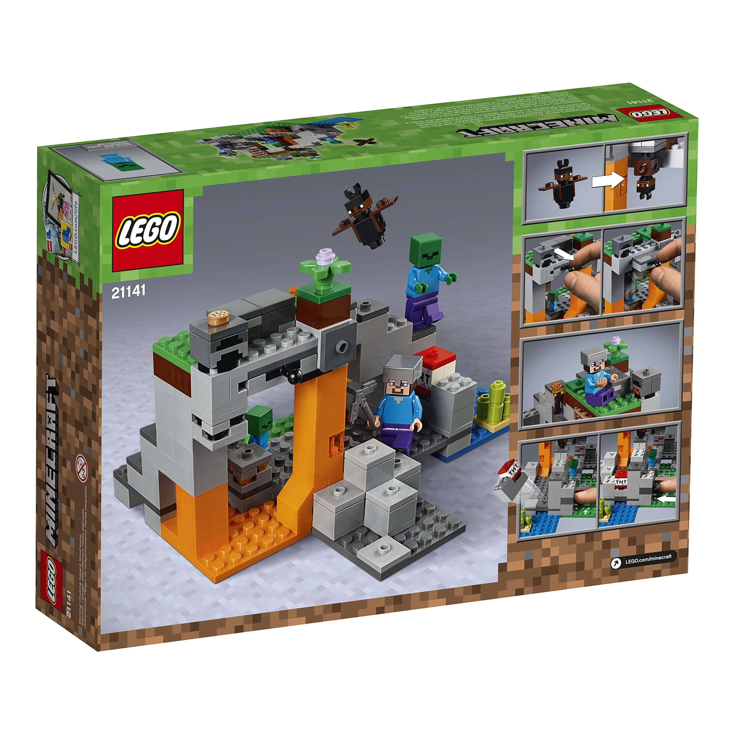 LEGO Minecraft The Zombie Cave 21141 Building Kit (241 Piece) by LEGO (Image #5)