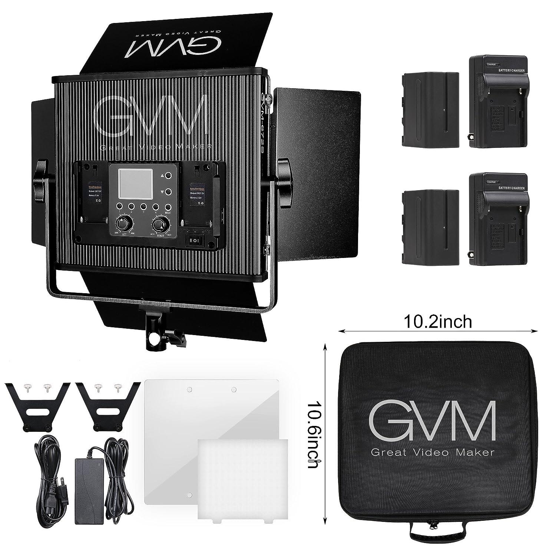 GVM LED Video Light Newest Version