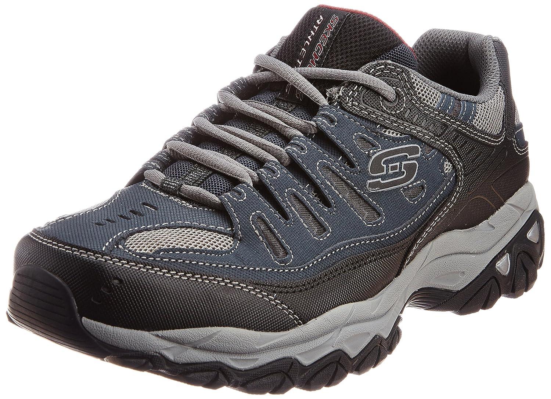 Skechers Men's Afterburn Memory-Foam Lace-up Sneaker