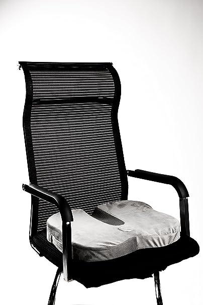 Amazon.com: Cojín para asiento (Back Support, coxis y ...