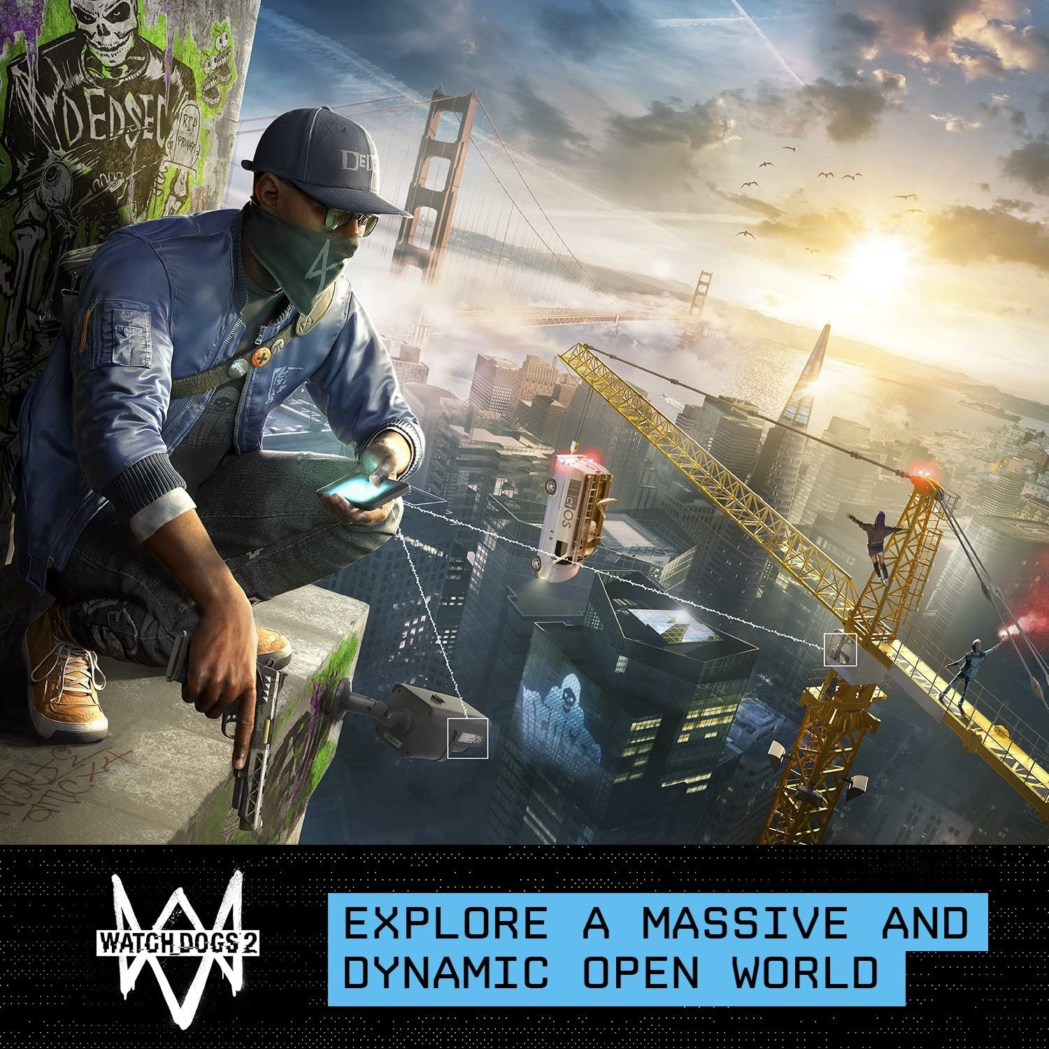 Amazon com: Watch Dogs 2: Deluxe Edition [Online Game Code