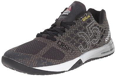 sports shoes 7a148 f13e2 Reebok Women s Crossfit Nano 5.0 Training Shoe, Coal Black White Tin Grey