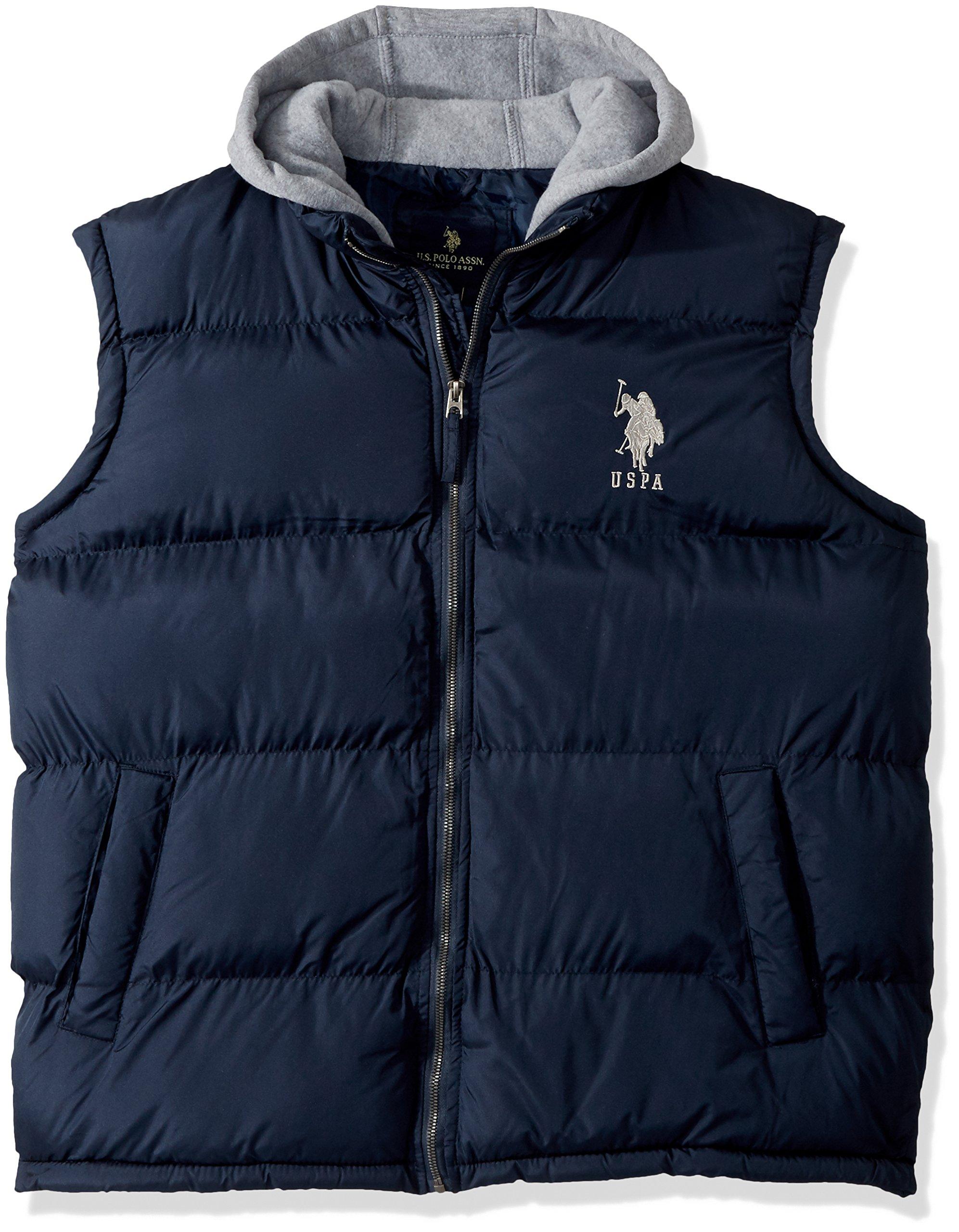 Mens Standard Puffer Vest Polo Assn U.S
