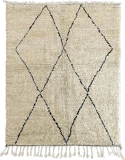 tapis berbere original beni ourain