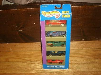 Mattel 1806 Pack de 5 Coches Hot Wheels: Amazon.es: Juguetes y juegos
