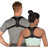 Swiss Safe Posture Corrector for Men/Women - Stylish & Discreet Ergonomic Back Straightener Brace for Proper Posture…