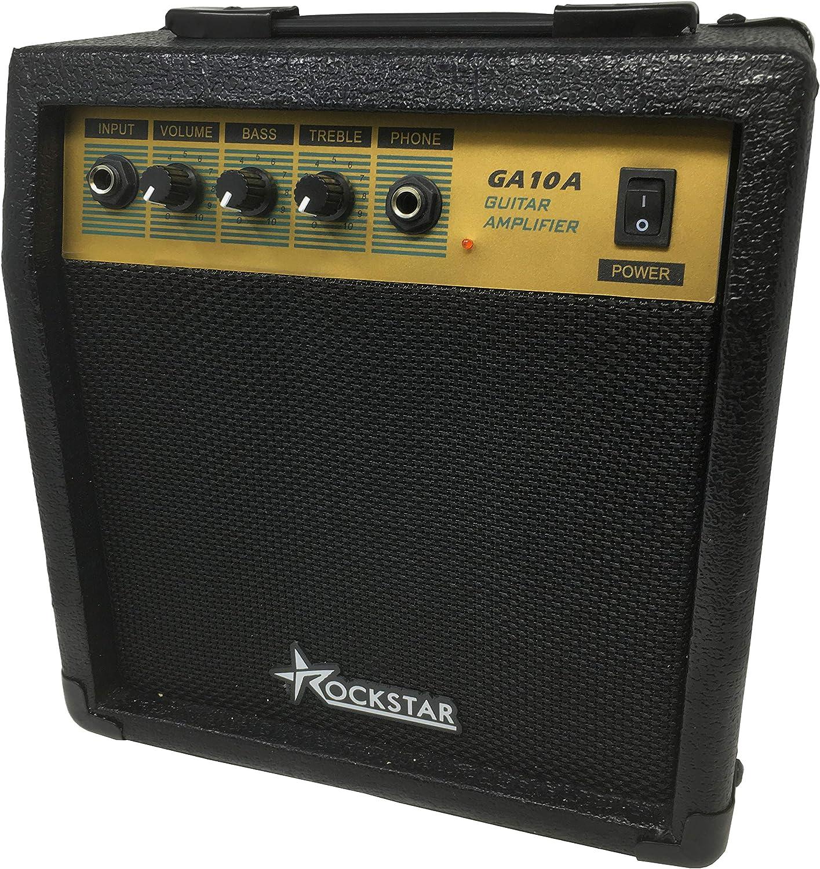 Amplificador combo para guitarra electrica ROCKSTAR GA10A con 10W ...