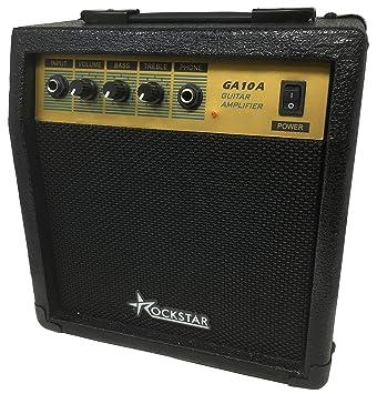 Amplificador combo para guitarra electrica ROCKSTAR GA10A con 10W de ...
