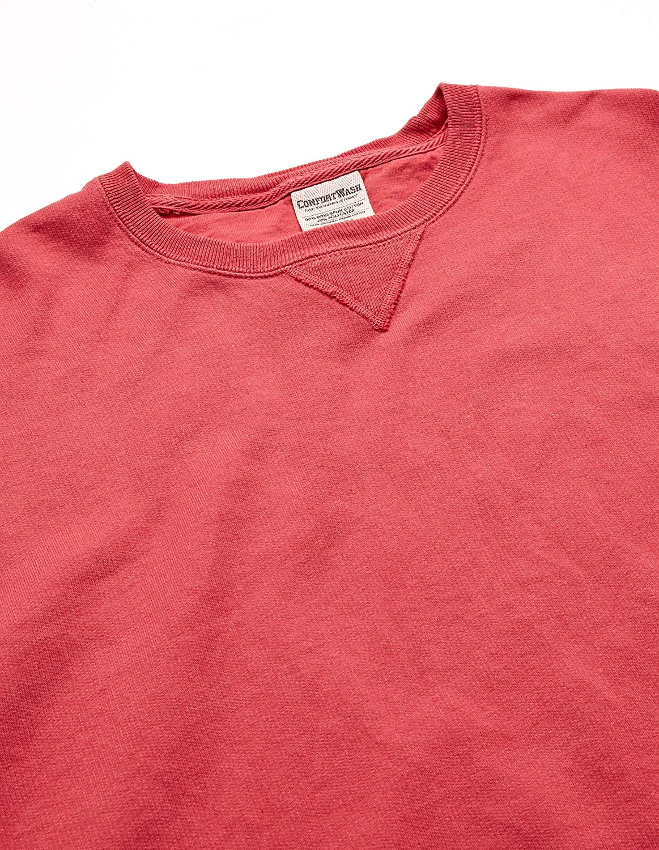 Hanes Men's ComfortWash Garment Dyed Fleece Sweatshirt at  Men's Clothing store