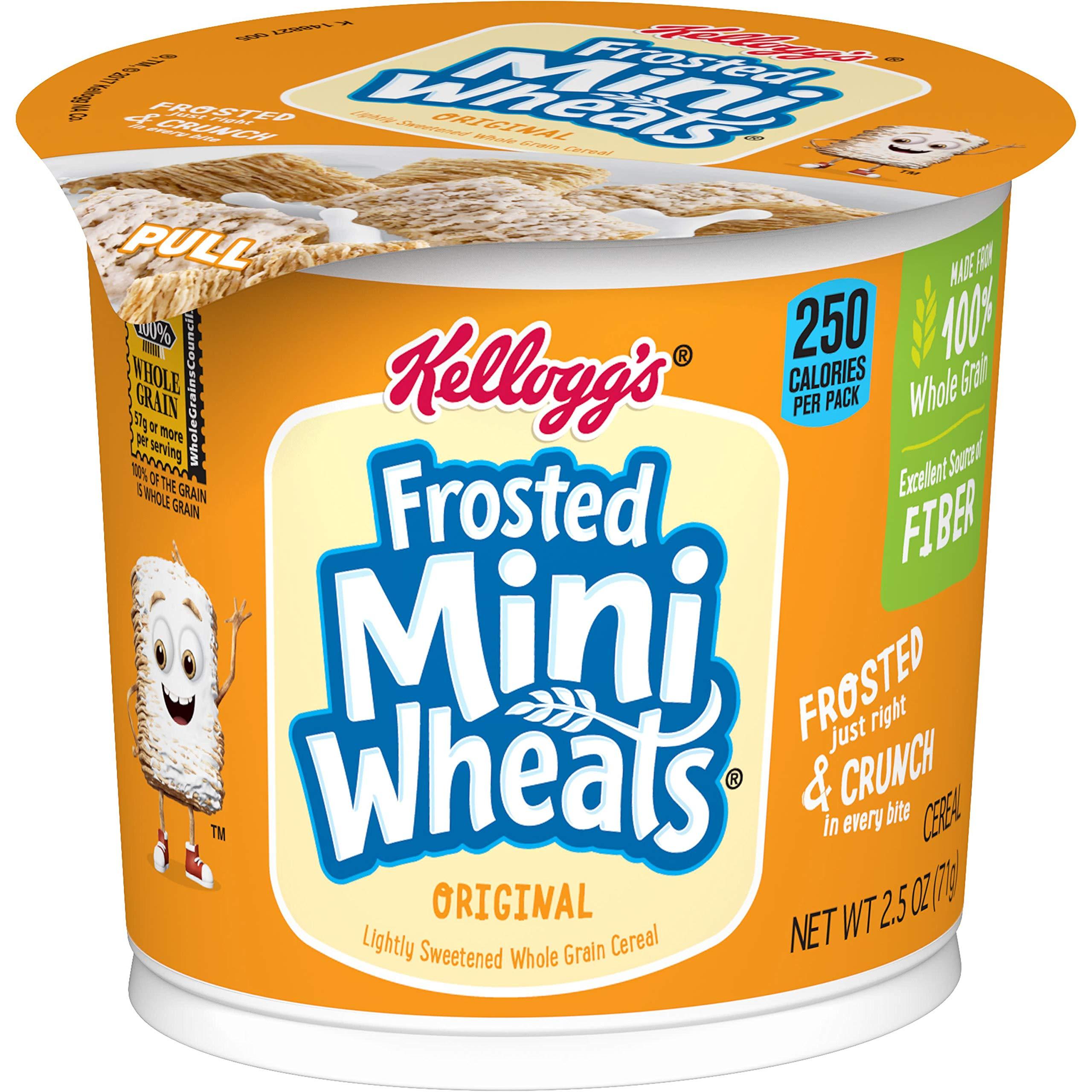 Amazon.com: Kellogg's, Frosted Mini Wheats, Little Bites