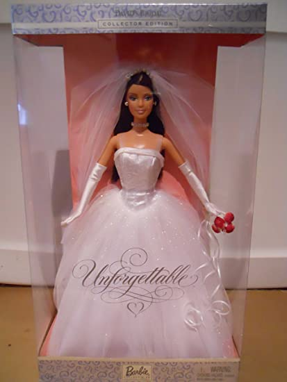 Amazon Com Barbie David S Bridal Unforgettable Brunette