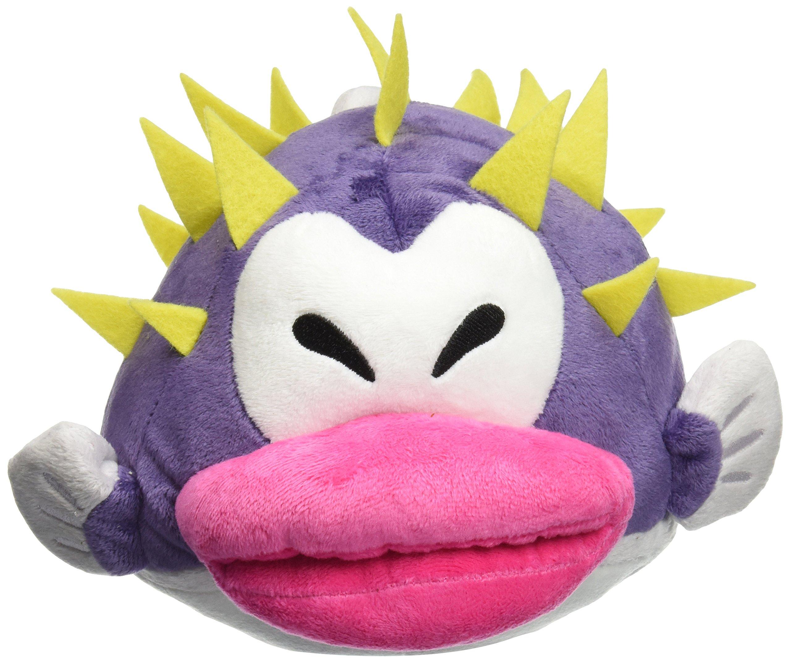 Little Buddy Super Mario Porcupuffer Plush, 7'' by Little Buddy