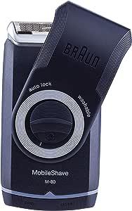 Braun Mobile Shave M30 Portable Electric Shaver Razor for Men's, Good for Travel