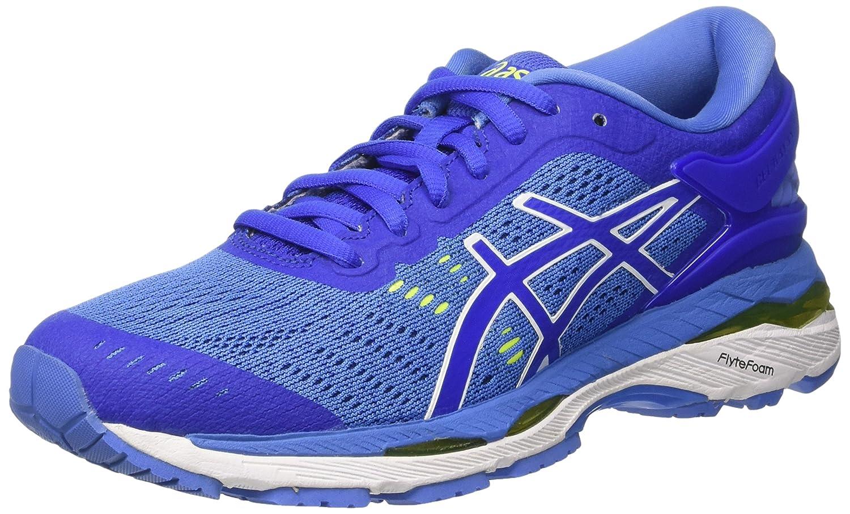 Asics Gel-Kayano 24, Zapatillas de Entrenamiento para Mujer 39.5 EU|Morado (Blue Purple / Regatta Blue / White)
