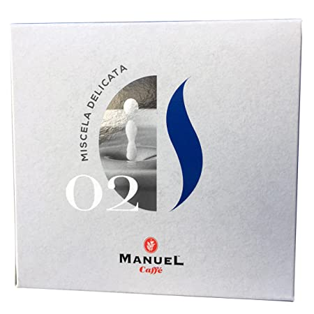 10 Packs Nespresso Compatible Capsules. Roasted Italian Premium Espresso By Manuel Caffe. Light Roast, Medium-Bodied Blend, Rich And Thick Crema.