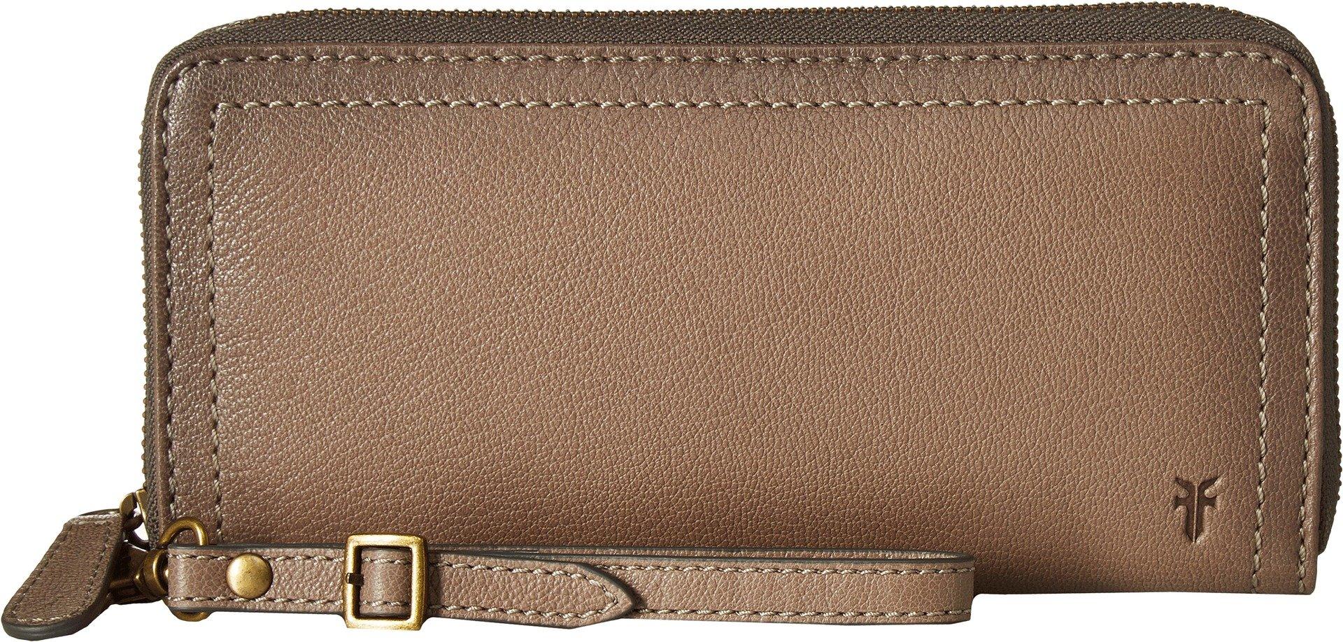 Frye Women's Lily Zip Wallet Charcoal One Size by FRYE