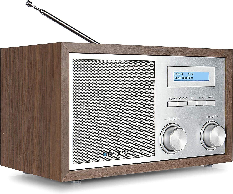 Blaupunkt Rxd 180 Küchenradio Dab Bluetooth Aux In Einfache Bedienung Digital Radio Dab Plus Drehregler Beleuchtetes Lc Display Holz Heimkino Tv Video