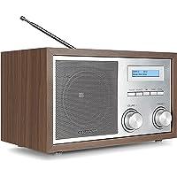 Blaupunkt RXD 180 DAB+ Digital Radio   Küchen-Radio mit Bluetooth   Aux In   UKW/FM  PLL Radio mit RDS   Alu-Optik und Drehregler