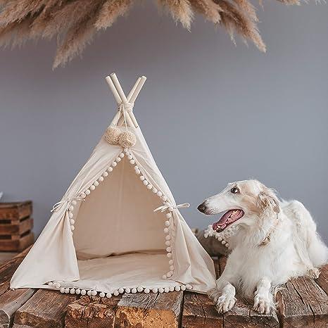 Camas de lujo para perros y gatos, camas para mascotas, pequeñas y medianas camas