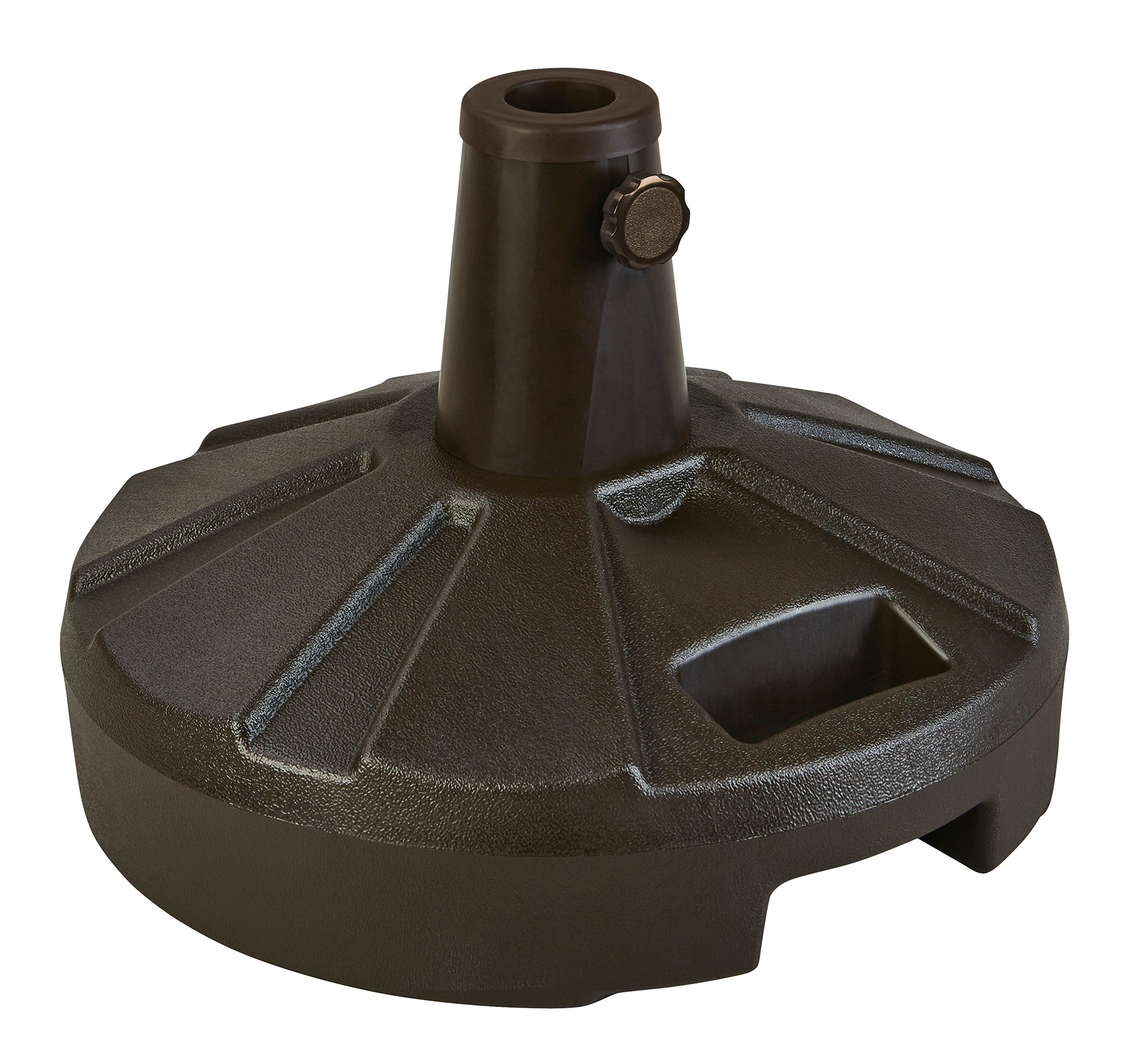 Patio Living Concepts 267 Unweighted 50-Pound-Capacity Umbrella Stand, Bronze