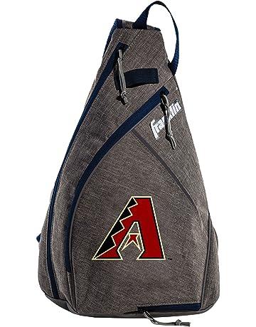9e86b4a9a989 Franklin Sports MLB Team Licensed Crossbody Slingbak Baseball Shoulder Bag  for Men   Women