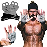 JerkFit Fly Grips, Hand Grips for Cross Training, Soft Vegan Lightweight Weight Lifting Gloves with Grip for Pull Ups…