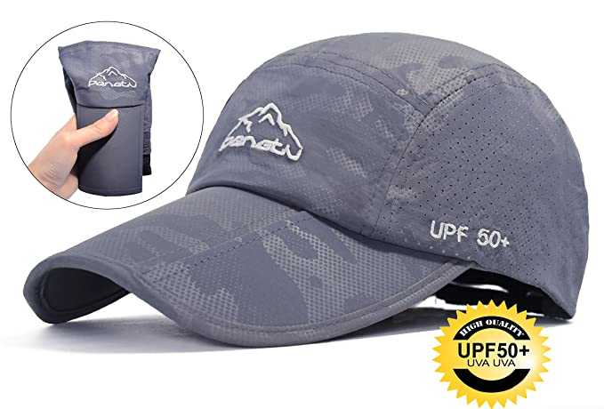 970077b2569 ELLEWIN Baseball Cap Quick Dry Travel Hats UPF50+ Cooling Portable Sun Hats  for Sports Golf Running