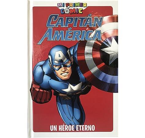 Capitán América, un héroe eterno. Mi primer cómic: Amazon.es: Vv ...
