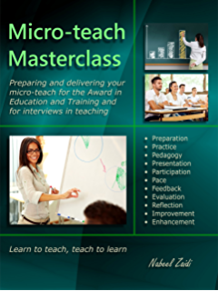 The award in education and training further education and skills micro teach masterclass preparing and delivering your micro teach for the award in fandeluxe Gallery