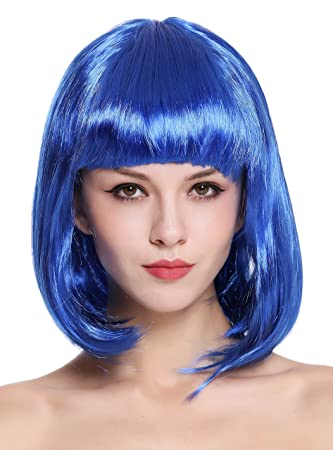 WIG ME UP ® - 0073-3-PC3 Peluca Mujer Carnaval Halloween Disco Party
