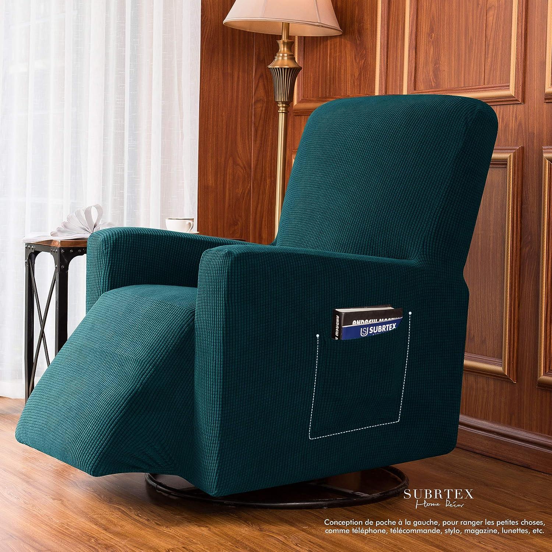 per Poltrona Relax Blu//Verde subrtex Copripoltrona Relax Estensibile per 1 Posto
