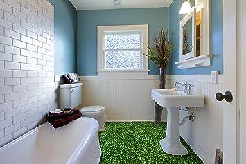Ruvitex d rivestimento parete pavimento bagno vinile pvc