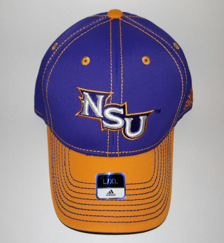 6e9db287447 Amazon.com   NSU Northwestern State University Demons Flexfit Fitted Cap  L XL   Sports   Outdoors