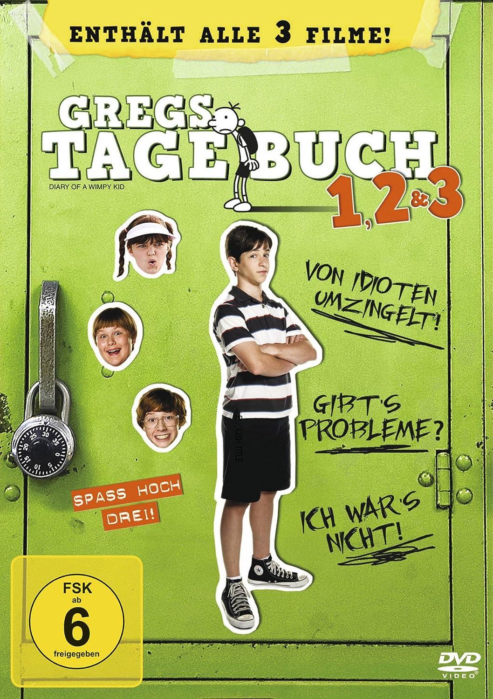 Gregs Tagebuch 1, 2 & 3 [3 DVDs]: Amazon.de: Zachary Gordon, Robert ...